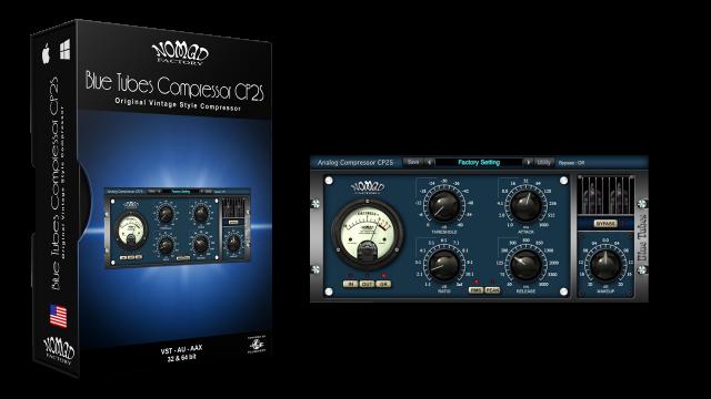 Blue Tubes Compressor CP2S