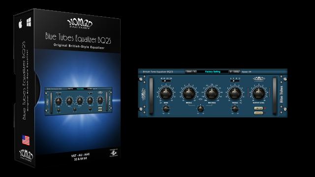 Blue Tubes Equalizer BQ2S