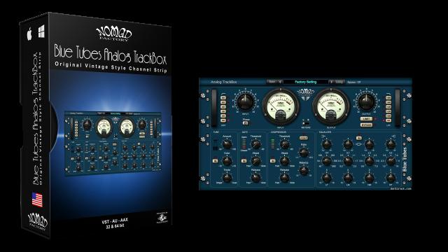Blue Tubes Analog TrackBox